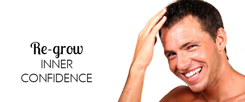 banner of hair transplant clinic situted in ahmedabad gujarat india asia