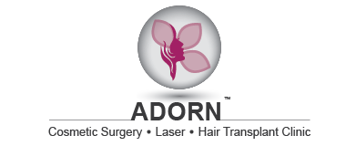 logo adorn cosmetic surgery laser hair transplant clinic
